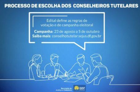 GDF divulga as regras de votação e campanha eleitoral para conselheiros tutelares