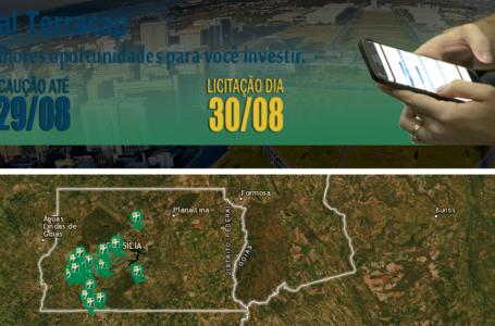 Terracap lança edital com mais de cem terrenos