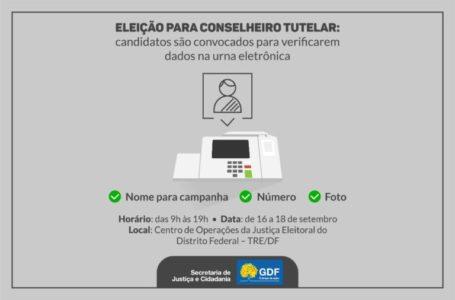 Candidatos a conselheiro tutelar devem atualizar dados