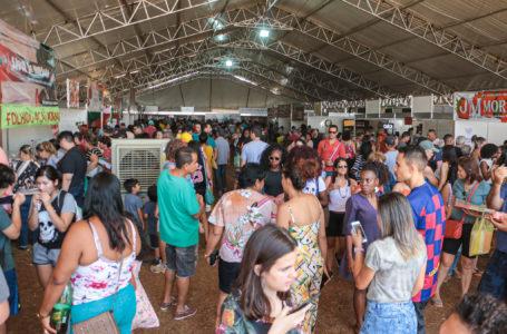 Festa do Morango de Brasília recebeu cerca de 100 mil pessoas
