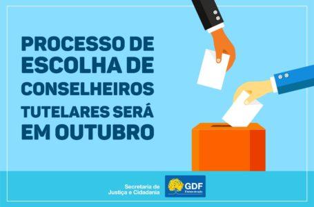 Distrito Federal se prepara para as eleições dos conselheiros tutelares no dia 6 de outubro