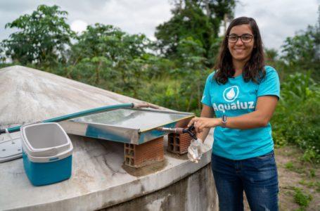 INOVAÇÃO E MEIO AMBIENTE | Com projeto para filtrar água, brasileira é 1ª a ganhar prêmio da ONU