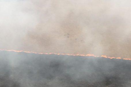 QUEIMADAS NO CERRADO   Incêndio atinge a Chapada dos Veadeiros