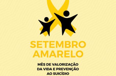 Regiões de saúde iniciam programação do Setembro Amarelo atuando na valorização da vida e prevenção ao suicídio