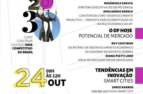 DESENVOLVIMENTO | Amcham Brasília promove Fórum DF 2030 em outubro