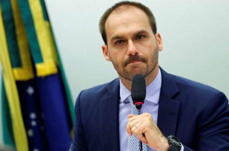CRISE DO PSL | Partido registra pedido de expulsão de Eduardo Bolsonaro