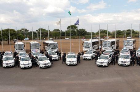 REFORÇO | PMDF entrega 216 viaturas e 22 ônibus novos em solenidade