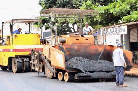 VALPARAÍSO DE GOIÁS | Pábio Mossoró investe em asfalto de qualidade no Jardim Céu Azul