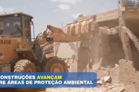 DF LEGAL   GDF combate ocupações irregulares em área de proteção ambiental