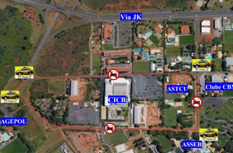 FIQUE ATENTO | Esplanada e vias adjacentes serão fechadas por 48 horas