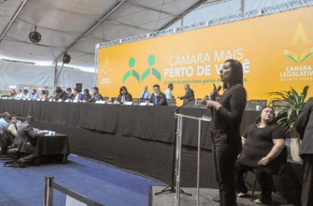 SESSÃO ITINERANTE | Deputados Distritais ouvem reivindicações da população de Planaltina