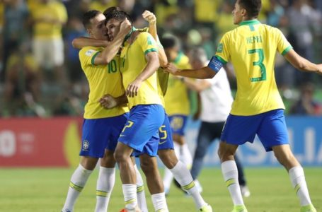 NA RAÇA | Brasil reage com três gols no segundo tempo, vence a França e vai à final do Mundial Sub-17