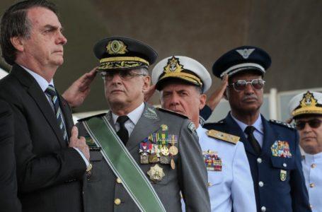 APOIO | Bolsonaro diz que Forças Armadas são âncora de seu governo