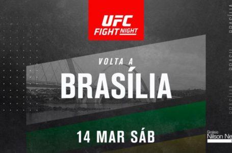 MAIS UMA EDIÇÃO NA CAPITAL | UFC Brasília será em março no ginásio Nilson Nelson
