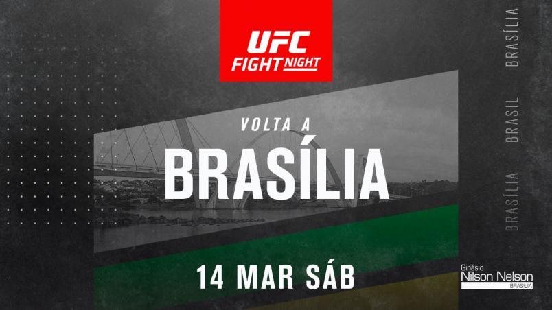 Foto de card do UFC BRasília 2020