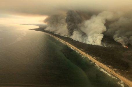 SÃO PEDRO AJUDOU   Chuva impede que fumaça da Austrália chegue até o Brasil