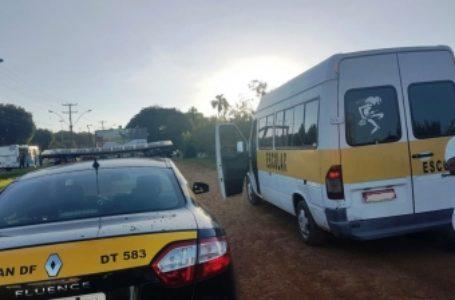 VOLTA ÀS AULAS | Detran-DF autua vans escolares em Taguatinga