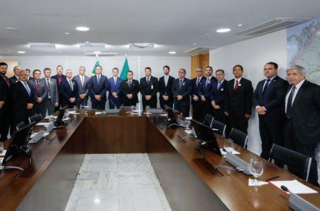 ENCONTRO COM BOLSONARO   Secretários de Segurança Pública pedem ministério exclusivo para área