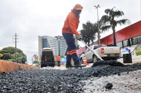 GDF PRESENTE | Mutirão para tapar buracos na área central de Brasília