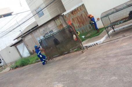 VALPARAÍSO | Prefeitura intensifica as ações de limpeza urbana na cidade