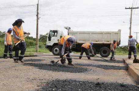 VALPARAÍSO | Operação Tapa-Buraco chega ao Parque Rio Branco