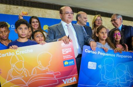 5 MIL CRIANÇAS ATENDIDAS | GDF lança programa Cartão-Creche