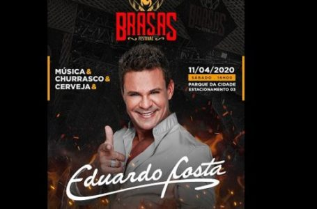 EM ABRIL   Festival Brasas organiza show musical, churrasco e cerveja em Brasília