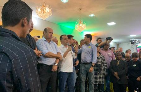 ELEIÇÕES 2020 | MDB recebe Pábio Mossoró com grande festa que conta com o apoio de líderes políticos de Valparaíso e outras cidades da região