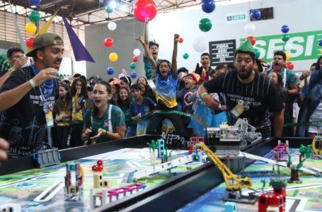 CLASSIFICADOS   Duas equipes do DF garantem vaga na etapa nacional do Torneio SESI de Robótica