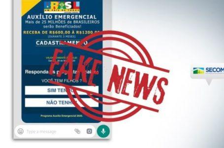 FIQUE ALERTA | Golpe no WhatsApp promete liberar auxílio de R$ 1.200 do governo