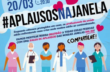 Profissionais da saúde merecem mais que aplausos na janela – Por José Fernando Vilela