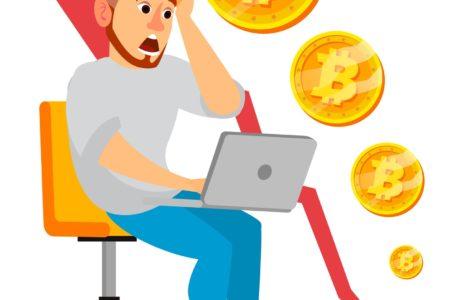 CRIPTOMOEDA   Bitcoin tem queda de 50% em apenas uma semana