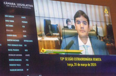 ATÉ 31 DE DEZEMBRO | Distritais aprovam a decretação de calamidade pública no DF