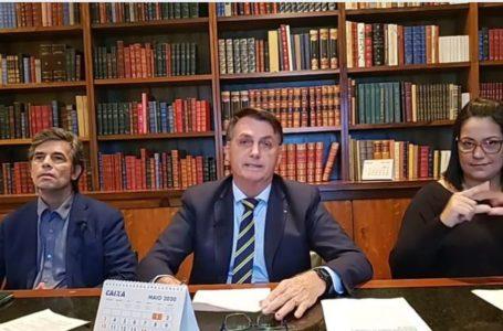 PARA RECUPERAR O FÔLEGO | Bolsonaro defende retomada gradual das atividades no país diminuindo o isolamento social