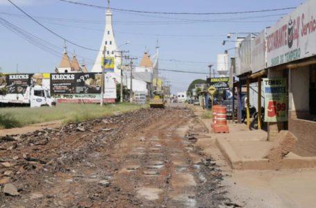 VALPARAÍSO DE GOIÁS | Entrada principal do Jardim Céu Azul ganha novo asfalto
