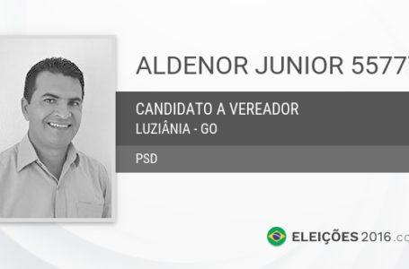 LUZIÂNIA   TSE mantém cassação e inelegibilidade de Aldenor Júnior (PSD) por comprar voto com combustível em 2016