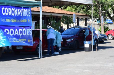 PONTO DE TESTAGEM EM MASSA   População de Samambaia já pode realizar o teste para diagnosticar a Covid-19