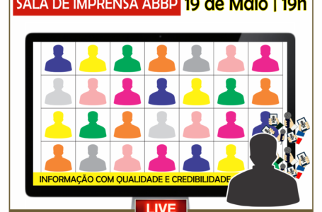SALA DE IMPRENSA | ABBP lança projeto de entrevistas coletivas online com autoridades do DF e Entorno