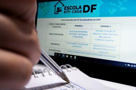 CONTAGEM REGRESSIVA | Estudantes da rede pública do DF passarão por ambientação ao ensino virtual a partir da próxima segunda (22)
