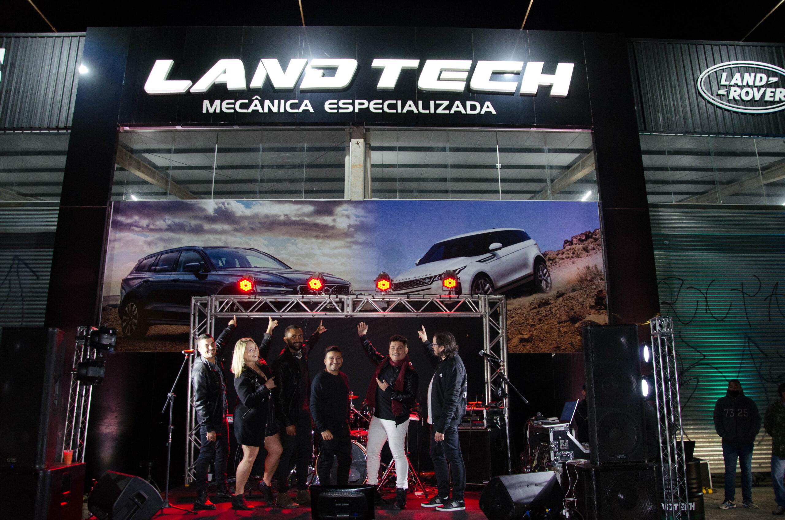 INOVAÇÃO | Land Tech realiza o primeiro show drive-in em Brasília
