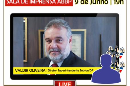 SALA DE IMPRENSA ABBP | Valdir Oliveira, do Sebrae/DF, é o entrevistado desta terça (09)
