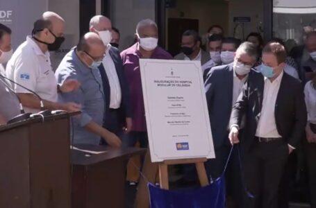 REFORÇO NO COMBATE À COVID | Ibaneis inaugura Hospital Modular de Ceilândia