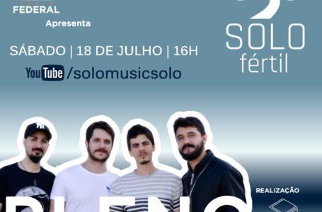 DIVERSÃO | Banda Pleno agita a tarde de sábado pelo projeto Solo Fértil