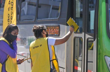CONSCIENTIZAÇÃO | Com aumento do fluxo de veículos, Detran-DF promove ações educativas sem deixar de punir infratores