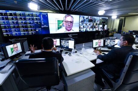 "APOIO PARA AS EMPRESAS | ""Brasil está perdendo de 7×1 no sistema financeiro"", diz Izalci ao ministro da Economia, Paulo Guedes"