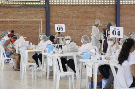 VALPARAÍSO DE GOIÁS | Quase 900 pessoas fizeram o teste da covid no Parque Marajó no último sábado (19)