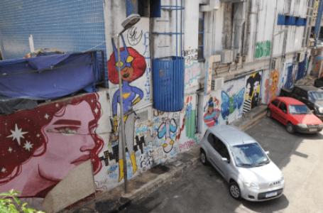 TURISMO CRIATIVO | Arte do Grafite atrai visitantes para o Setor Comercial Sul