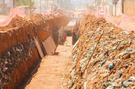 GALERIAS PLUVIAIS | Obras em Vicente Pires chega a 90% de execução