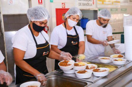 RORIZÃO | Mais de 4,7 milhões de refeições foram servidas nos restaurantes comunitários em 2020
