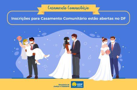 QUER CASAR COMIGO?   GDF abre inscrições para casamento comunitário até 5 de outubro